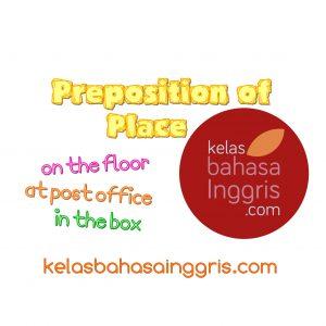 Penggunaan Preposition of Place At Ot In