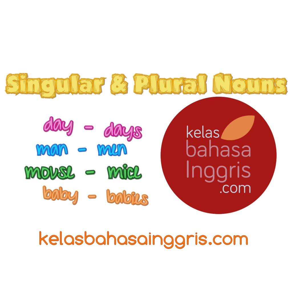 Penjelasan Lengkap Singular dan Plural Nouns