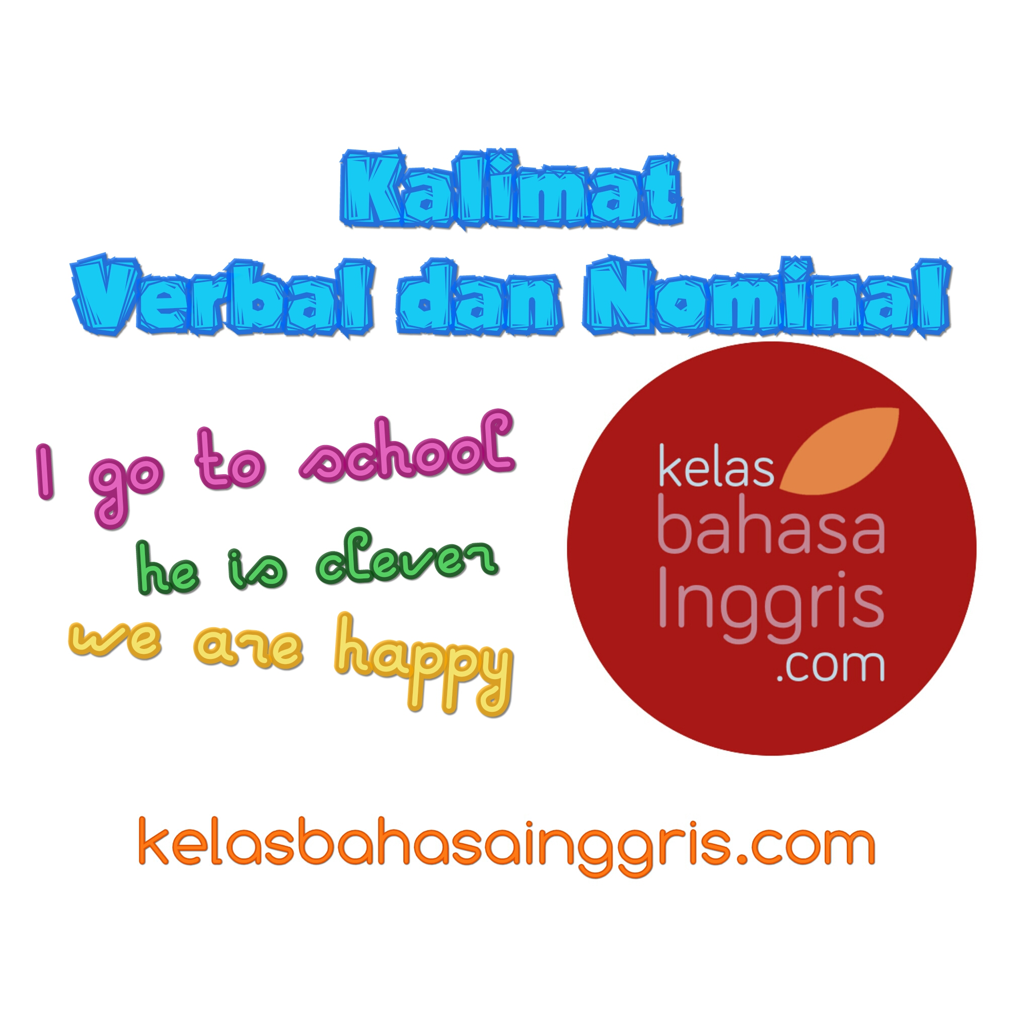 Penjelasan Lengkap Kalimat Verbal dan Nominal