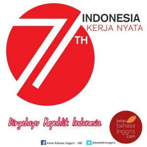 Logo RI 71 Indonesia