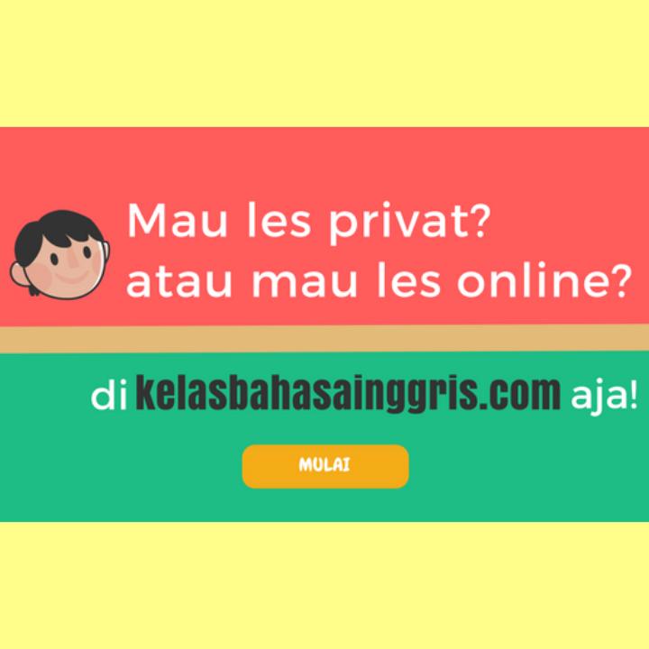 Les Bahasa Inggris Online dan Privat